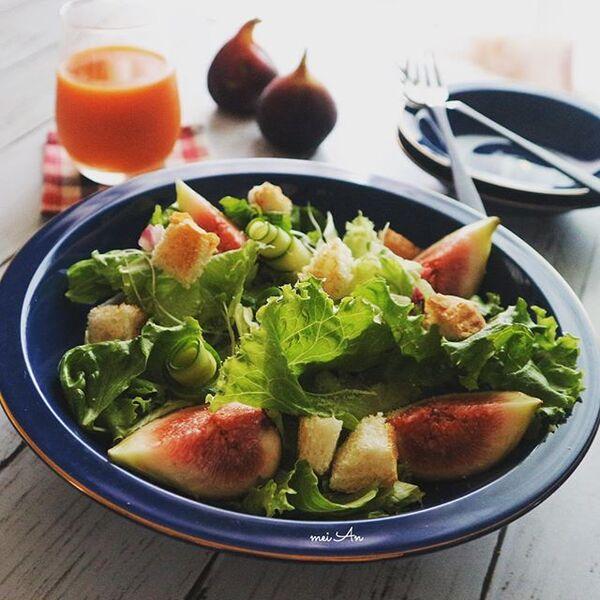 9月の果物「いちじく」のサラダ