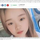タワークレーンでライブ配信中、23歳女性が48メートル下に転落(中国)