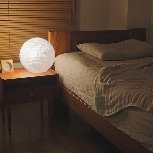 ベッドサイドのインテリアと収納4