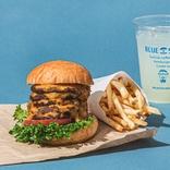 【肉好き必食】驚異の「5段重ねチーズバーガー」爆誕!肉肉しさも5倍増し♪【ブルースターバーガー】