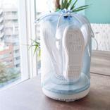 なかなか乾かない上靴やマスク、サンコーの超小型卓上乾燥機が一気に乾かすよ!