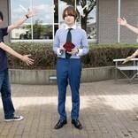 伊野尾慧「誕生日の月にドラマやるのは最高ですね!」 撮影現場でサプライズ