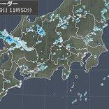 北陸や東海に発達した雨雲 午後は関東甲信でも「発雷確率」高い 天気急変に注意