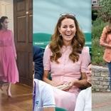 キャサリン妃のコーデがいつでも上品な理由。「ピンク」を見るとわかることは…