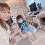 辻希美、夏休みに大活躍のアイテム&長男・次男の動画撮影風景を公開「激しめが好き過ぎて…」