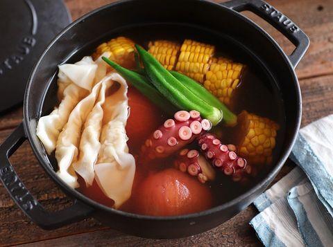 和風で美味しい!たこと夏野菜の冷やしおでん