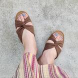 【靴】ワークマン・GU・ユニクロの「夏の人気ぺたんこサンダル」着用レビュー! 歩きやすいのは?