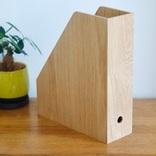 無印良品の人気アイテム、ファイルボックスに木製タイプが新登場! これはデスク周りの救世主になってくれそうだ マイ定番スタイル