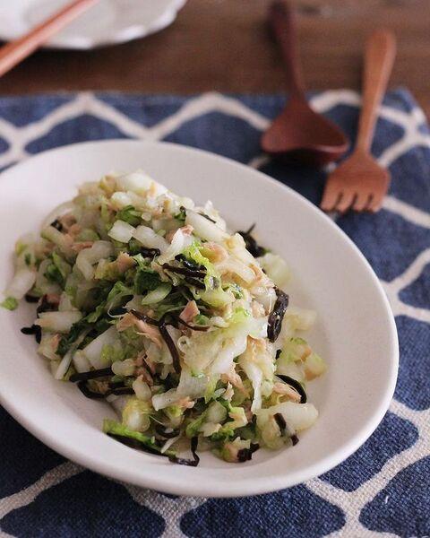 子供に人気の白菜レシピの献立7
