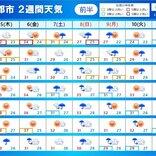 2週間天気 来週にかけて台風が相次ぎ接近のおそれ 立秋過ぎても厳しい残暑