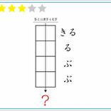 【IQ120級クイズ】この四角いマスの中には何という漢字が入るかな…?
