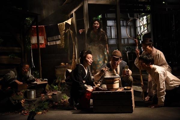 西瓜糖第6回公演『レバア』舞台写真 撮影:宮内勝