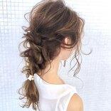 結婚式の髪型におすすめの《くるりんぱ》自分でできるお呼ばれ簡単ヘアアレンジ