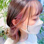 インナーカラーはラベンダーがおしゃれ!レングス別の透明感ある髪色カタログ