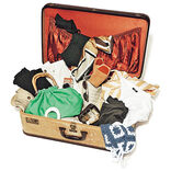 「スーツケースに収まる数で」旅先気分の着まわしワードローブ