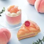 【コージーコーナー】「白桃たっぷりケーキ」大集合♪ モンブラン、ショートほか4品