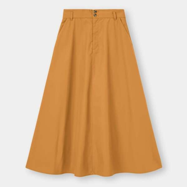 GUのAラインスカート