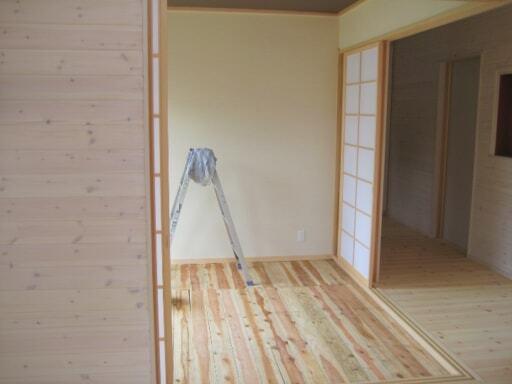 自宅の和室ができ上がったころの写真