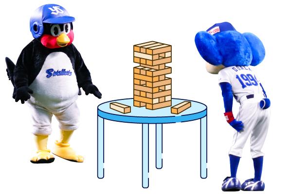 13日(月)の対決テーマは「テーブルゲーム」