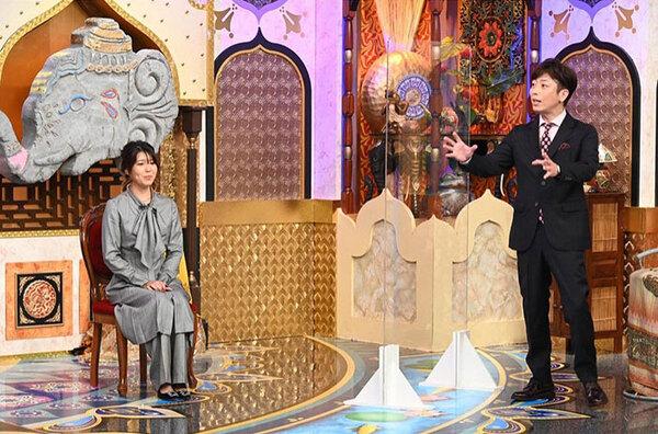 番組内で結婚を発表した石橋穂乃香。「今夜くらべてみました」公式インスタグラム(@ntv_konkura)より。