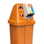 新機能のリサイクルボックスを開発 22年秋の業界統一仕様目指し、実証実験