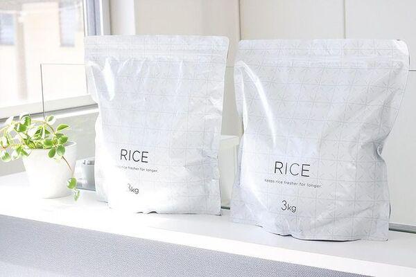 お米保存袋・密閉