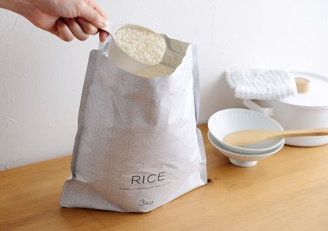 お米保存袋・自立