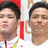 金メダル計5枚ズラリ 大野将平&野村忠宏、圧巻の2ショットにファン「眩しすぎます」