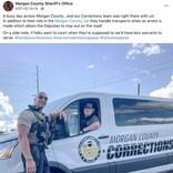 """地元市民を守る""""ロック様"""" ドウェイン・ジョンソン激似の保安官が人気(米)<動画あり>"""