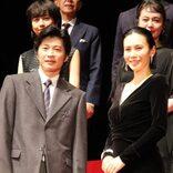 田中圭、中谷美紀との夫婦役に「緊張しました。ハラハラしてました」 中谷「それ、どういう意味ですか?」