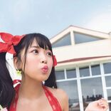 NMB48安田桃寧1st写真集、お気に入りのキュートな水着ショット大公開