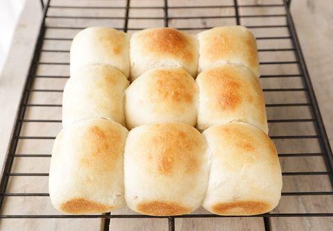 ちぎりパン、里芋。