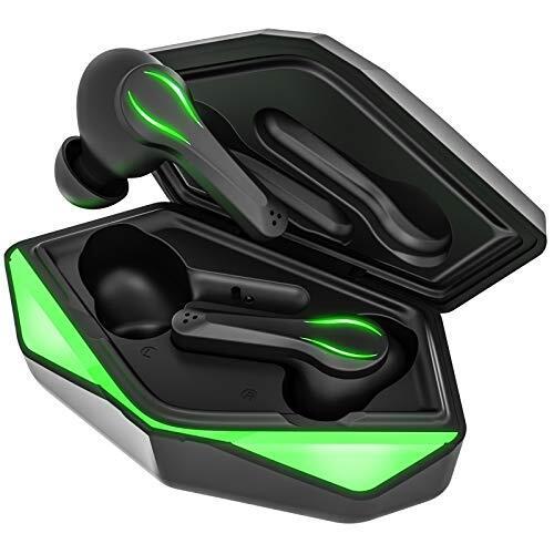 ゲーミングワイヤレスイヤホン ブルートゥース イヤホン IPX5防水 タッチ式 Bluetooth イヤホン
