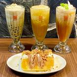 【春水堂】梨たっぷりドリンク、酸辣湯麵、台湾カステラも新登場!旬の味わいが楽しめる秋の新商品実食ルポ