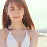 NGT48西潟茉莉奈、1st写真集の水着撮影は「恥ずかしい」 初ランジェリーも