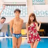 高飛込・西田玲雄選手から学んだ「ノースプラッシュ」の技術を応用してグラビア撮影してみた