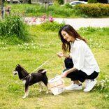 愛犬とのお散歩をより楽しくおしゃれに 片手でフンをスマートにキャッチ