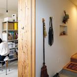 廊下や階段下もムダなく使える小さな戸建て。陶芸アトリエにワークスペースもあります