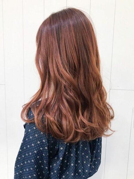 イエベ春×ハイトーンオレンジブラウン