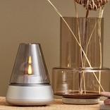 ゆらめく灯りが特徴的な、LEDランタンスピーカー。寝る前のリラックスタイムに欲しいかも