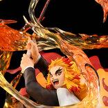 『鬼滅の刃』躍動感たっぷり、炎をまとった煉獄杏寿郎が登場!