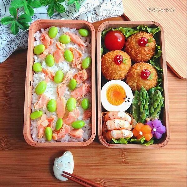 2段のお弁当