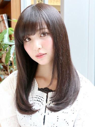 遠心顔さんにおすすめの髪型12