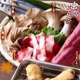"""【ジビエ】「天然猪肉」の""""串かつ""""登場!! 秋の味覚をワイルドに味わう限定メニュー"""