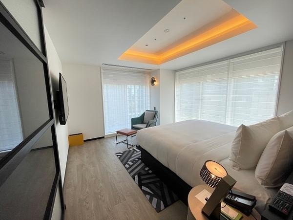 アロフト大阪堂島、ロフトスイートの寝室