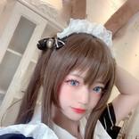中国出身コスプレイヤー奈々子が『アークナイツ』アーミヤのメイド姿披露