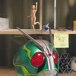 趣味でオリジナルの仮面ライダーヘルメットを制作 出来栄えに称賛の声