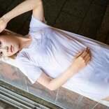 元SKE48北川綾巴、1st写真集決定 初のランジェリー・入浴姿、ベッドで大胆なシーンも披露