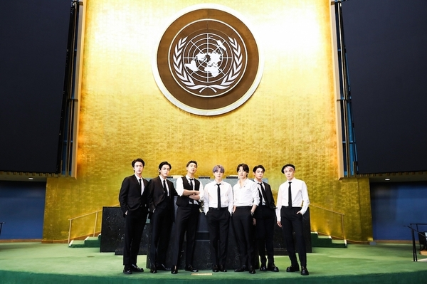 BTS国連総会写真
