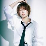 人気お天気キャスター・阿部華也子が、ファッション誌でハンサム大変身! 人生初のオールバックも!